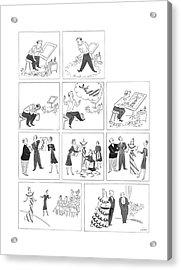 New Yorker May 23rd, 1942 Acrylic Print
