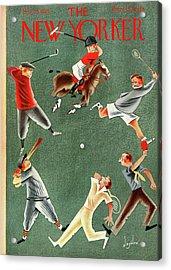 New Yorker May 25th, 1935 Acrylic Print