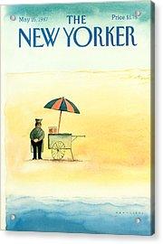 New Yorker May 25th, 1987 Acrylic Print