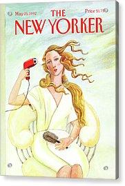 New Yorker May 25th, 1992 Acrylic Print