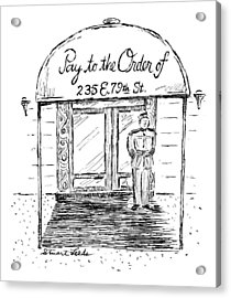 New Yorker May 26th, 1997 Acrylic Print