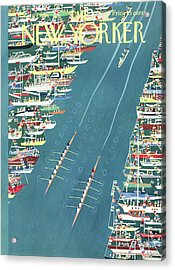 New Yorker May 27th, 1961 Acrylic Print