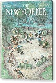 New Yorker May 27th, 1991 Acrylic Print
