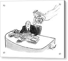 New Yorker May 28th, 1990 Acrylic Print