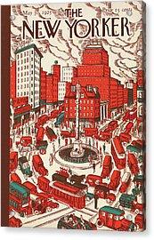 New Yorker May 30th, 1925 Acrylic Print