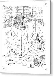 New Yorker May 3rd, 1941 Acrylic Print