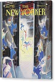 New Yorker May 3rd, 1993 Acrylic Print
