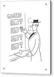 New Yorker May 4th, 1940 Acrylic Print