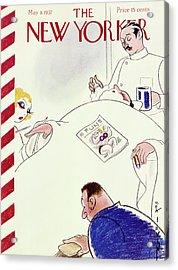 New Yorker May 8 1937 Acrylic Print