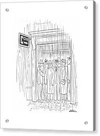 New Yorker May 8th, 1943 Acrylic Print
