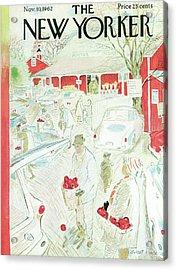 New Yorker November 10th, 1962 Acrylic Print