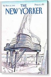 New Yorker November 12th, 1990 Acrylic Print