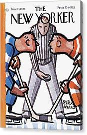 New Yorker November 13th, 1965 Acrylic Print