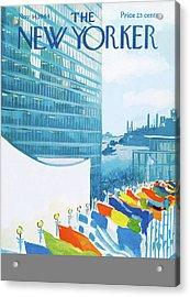 New Yorker November 14th, 1964 Acrylic Print by Arthur Getz