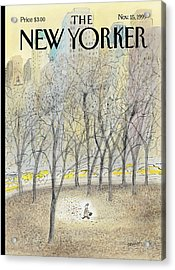 New Yorker November 15th, 1999 Acrylic Print
