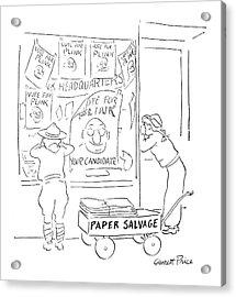 New Yorker November 18th, 1944 Acrylic Print