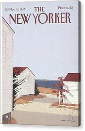New Yorker November 18th, 1985 Acrylic Print