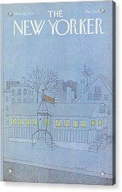 New Yorker November 19th, 1979 Acrylic Print