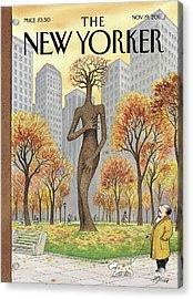 New Yorker November 19th, 2001 Acrylic Print