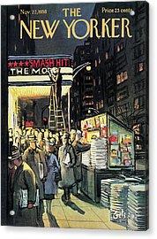 New Yorker November 22nd, 1958 Acrylic Print