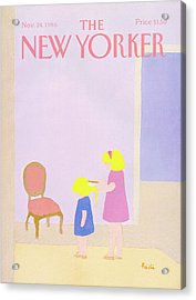 New Yorker November 24th, 1986 Acrylic Print