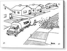 New Yorker November 25th, 1996 Acrylic Print