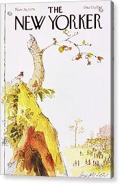 New Yorker November 26th 1979 Acrylic Print