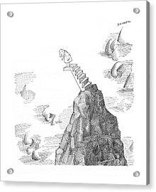 New Yorker November 27th, 1965 Acrylic Print