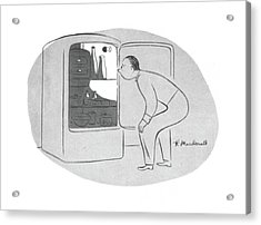 New Yorker November 28th, 1942 Acrylic Print by Roberta Macdonald