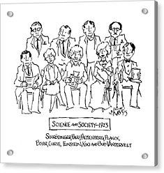 New Yorker November 28th, 1983 Acrylic Print
