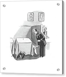 New Yorker November 2nd, 1940 Acrylic Print by Robert J. Day