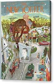 New Yorker November 2nd, 1946 Acrylic Print