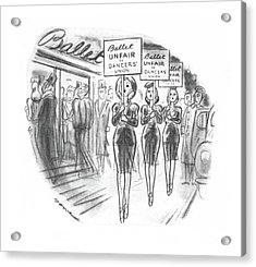 New Yorker November 30th, 1940 Acrylic Print