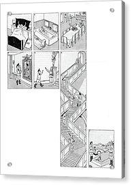 New Yorker November 4th, 1944 Acrylic Print
