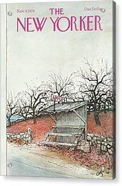 New Yorker November 6th, 1978 Acrylic Print