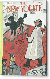 New Yorker November 9th, 1946 Acrylic Print