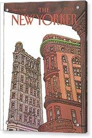 New Yorker November 9th, 1981 Acrylic Print