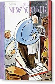New Yorker October 1 1932 Acrylic Print