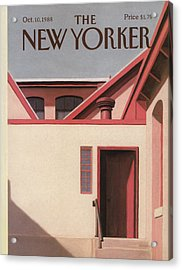 New Yorker October 10th, 1988 Acrylic Print