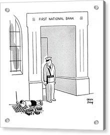 New Yorker October 11th, 1941 Acrylic Print