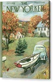 New Yorker October 11th, 1958 Acrylic Print