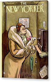 New Yorker October 15th, 1932 Acrylic Print
