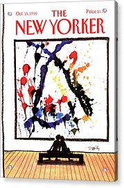 New Yorker October 15th, 1990 Acrylic Print by Donald Reilly