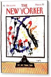 New Yorker October 15th, 1990 Acrylic Print