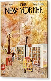 New Yorker October 18th, 1976 Acrylic Print
