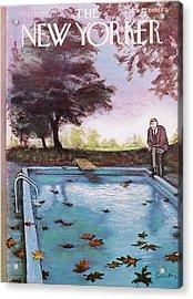 New Yorker October 19th, 1963 Acrylic Print