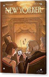 New Yorker October 19th, 1998 Acrylic Print