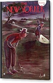 New Yorker October 1st, 1938 Acrylic Print