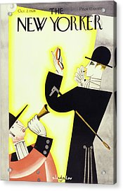 New Yorker October 2 1926 Acrylic Print