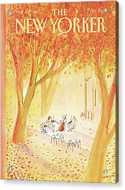 New Yorker October 20th, 1980 Acrylic Print